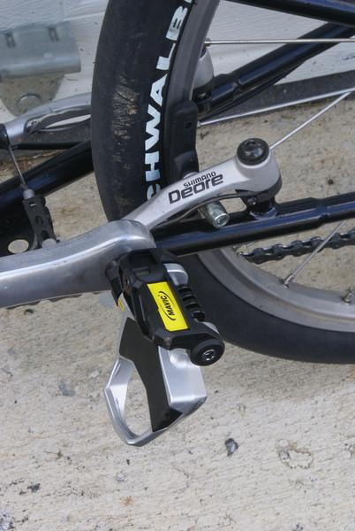 Mavic road pedal